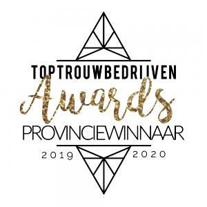 TOPTROUWBEDRIJVEN Awards - Winnaar Provincie Noord-Brabant